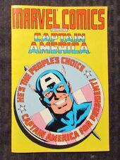 1987 Marvel Comics Presents CAPTAIN AMERICA For President FN+ 6.5 Ashcan Mini