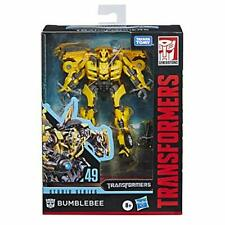 Transformers Toys Studio Series 49 Deluxe Class Movie 1 Bumblebee Action