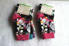 2 Sets LITTLE MISS MATCHED -Ankle Socks, Ages 10-101 -NWT