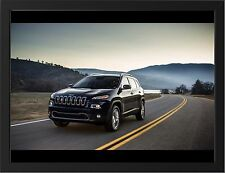 """JEEP CHEROKEE 2014 EDITION A3 FRAMED PHOTOGRAPHIC PRINT 15.7"""" x 11.8"""""""