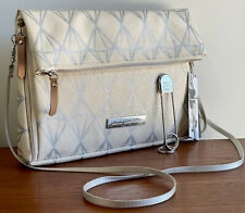 Petunia Pickle Bottom Metallic Crossover Clutch Diaper Bag Purse + Key Chain