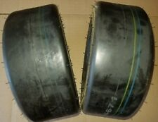 2 - 9x3.50-4 4 Ply Kenda K404 Smooth Lawn Mower Tires PAIR 9x3.5-4 FREE SHIPPIN