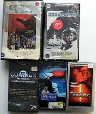 ADVENTURES IN OUTER SPACE 6 SEALED VHS VIDEOS #53