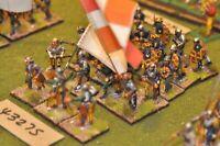 25mm renaissance / italian - battle group (plastic) 23 figures - inf (43275)