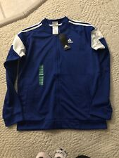 Adidas Boys Jacket Blue Color Size XL-18/20 Brand New With Tag
