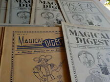 10 issues Magicial Digest 1950's