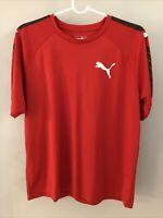 Puma Brand Men's Red Shirt Size Large