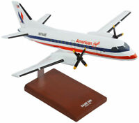 American Eagle Saab SF-340 Old Livery Desk Top Display Model 1/100 ES Airplane