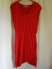 COUNTRY ROAD, SMALL, RED, RUCHED/DRAPPED DRESS