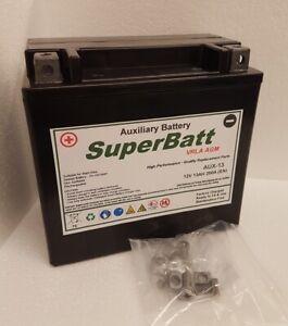 SuperBatt AUX-13 12V 13AH VRLA AGM Auxiliary Battery - Mercedes Benz A0009829308