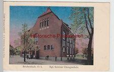 (111510) AK Reichenbach, O. L., Oberlausitz, Königl. Seminar Übungsschule, Lunak