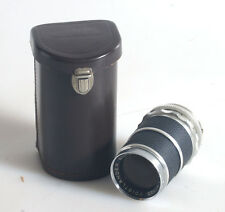 135MM F/4 VOIGTLANDER SUPER-DYNAREX LENS WITH CASE