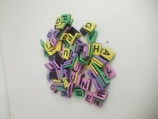 WORDS WITH FRIENDS GAME 125 REPLACEMENT MAGNETIC  LETTER TILES SCRABBLE