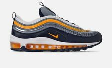 Boys' Big Kids' Nike Air Max 97 RF Casual Shoes Midnight Navy/Laser Size 7Y