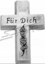Kreuz Grab Schmuck Skulptur Statuen Statue Skulptur Frostfrei Neu Gott S111037