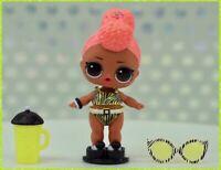 LOL Surprise Lights Glitter YACHT BB b.b. Baby Doll Glow Ball w UV Blacklight