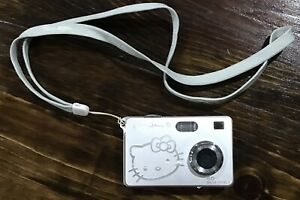 Hello Kitty 5.0 Mega Pixels Digital Camera-Silver Color- Not Tested- As Is
