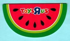 TOYS R US Watermelon Slice 2009 Die-Cut Gift Card ( $0 )