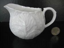 WEDGWOOD COUNTRYWARE MILK CREAM JUG WHITE ENGLISH BONE CHINA CABBAGE TEA SET