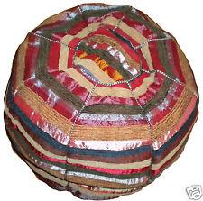 Fairtrade Marokkanische gewebt Sabra Seide Textil Sitzkissen Sitzsack Deckel