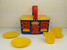 Vintage Bluebird Toys Cheeky Mouse Picnic Set - RARE - READ