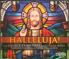 NEU 4 CDs 2015 HALLELUJA! - G.F. HÄNDEL : DER MESSIAS GEISTLICHE WERKE SCARLATTI
