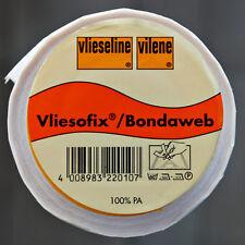 0,5m Freudenberg Vliesofix Bondaweb 90cm breit beidseitig Bügelvlies Vlieseline