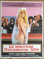 Plakat Le Neu das Decamerone 300 Mauro Stefani Ruggieri Neri Erotik 40x60cm