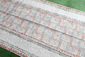 4x6ft Dari Rug Handmade Cotton Carept Floor Rug Area Rug Bohemian Rug Home Decor