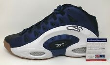 EMMITT SMITH Signed REEBOK ES22 CL Suede Retro NFL SHOE Dallas COWBOYS PSA/DNA