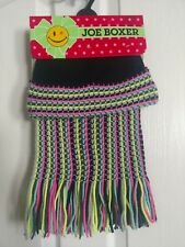 be39ad7aae3 Joe Boxer Girls Scarf And Hat Multicolor