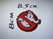 Quality Iron/Sew on Ghostbusters logo patch no ghost symbol slimer NY