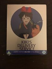 Kiki's Delivery Service Limited Edition Blu-Ray Steelbook REGION B - Brand New!
