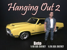 American Diorama 1:24 Scale (7.5 cm) Figure - Hanging Out 2 - Beto # AD-38287