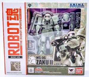 BANDAI ROBOT SPIRITS SIDE MS MS-06 Mass Production ZAKU Figure Japan