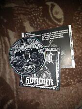 NATION WAR-honour-CD-black metal