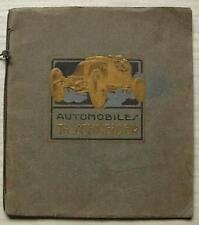 Th. SCHNEIDER automobiles sales brochure c1924 français TORPEDO Coupé omnibus + +