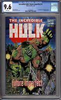 Incredible Hulk Future Imperfect 1 CGC 9.6 NM+ 1st Maestro Marvel Comics 1993