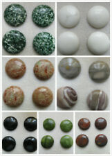 4 x Round Agate Cabochons. 30mm. 7 Options. Jewellery or Crafting.