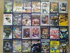 Playstation 2 PS2 Spiele Action Simulation Rennspiele Fantasie Shooter Rollen