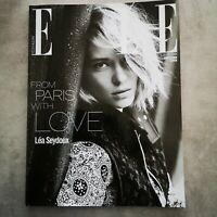 Elle UK Magazine June 2016 Lea Seidoux From Paris Subscriber Cover VGC