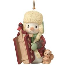 Nib Precious Moments Ornament May Your Holidays Be Filled 191016 Snowman 2019