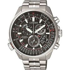 Citizen Eco-Drive Radio Control Titanium Watch. Sapphire Glass BY0120-54E