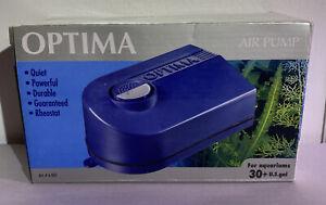 NEW OPTIMA A-807 AIR PUMP BRAND NEW IN BOX AQUARIUMS
