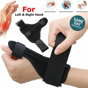 Durable Thumb Spica Splint Wrist Thumb Support Brace Splint Strap Adjustable