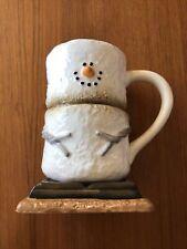 Smores Marshmallow Ceramic Chocolate Coffee Mug ~Midwest Canon Falls 2016 ~ Rare