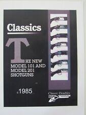 Classic Doubles c1985 product catalog