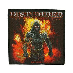 Disturbed Indestructible Album Patch Heavy Metal Rock Band Sew On Applique