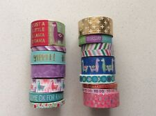 Recollections Washi Tape Tube Llama Mix 2 15 Rolls Washi Tape Planner