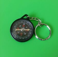 (5 pcs) Mini Compass with Chain Ring - USA Seller